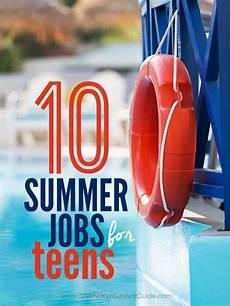 Good Summer Jobs 10 Best Summer Jobs For Teens