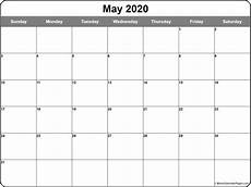 October 2020 Calendar Template May 2020 Calendar 56 Templates Of 2020 Printable Calendars