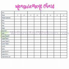 Body Measurement Chart Printable Free Printable Body Measurement Chart Body Measurement