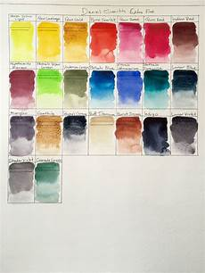 Daniel Smith Watercolor Color Chart Doodlewash Review Daniel Smith Extra Fine Watercolors