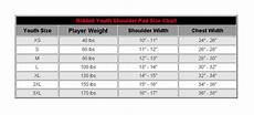 Riddell Sizing Charts Shoulder Pads Riddell Warrior Iix Youth Football Shoulder Pads