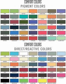 Comfort Colors Long Sleeve Color Chart Exceptional Comfort Color Shirts 2 Comfort Colors T Shirt
