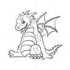 Ausmalbilder Drachen Coloring Pages Getcoloringpages