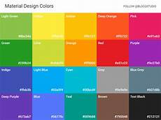 Color Tool Material Design Material Design Colors By Simo Djuric On Dribbble