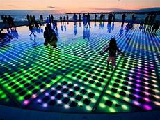 Led Light Installation Public Art In Zadar Croatia Travel 365 In 2019 Light