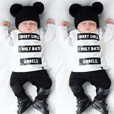 baby clothes boy and 2pcs infant baby boys sleeve t shirt tops