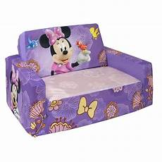 disneys minnie mouse marshmallow furniture flip open