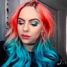 makeup matching hair popsugar