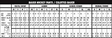 Bauer Nexus Pants Sizing Chart Bauer Nexus 400 Hockey Pant Yth 16