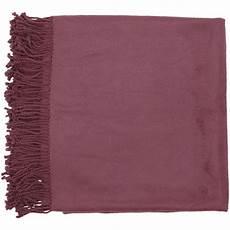 50 quot x 67 quot right at home cozy plum purple throw blanket
