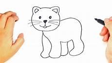 dibujos de gatos como dibujar un gato f 225 cil paso a paso