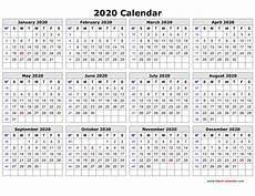 online printable calendar 2020 printable calendars free 2020 qualads