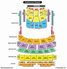 Auditorium Theatre Seating Chart Seating Charts Amp Tickets