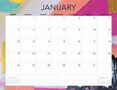 January 2020 Calendar Download Free 2020 Printable Calendars 51 Designs To Choose From