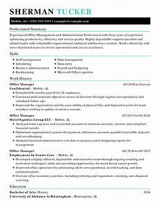 Administrative Assistant Resume Samples Use This 1 Administrative Assistant Resume To Start Yours