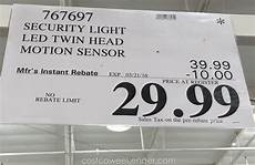 Home Zone Home Zone Security Motion Activated Led Light Costco