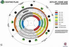 Mcc Seating Chart New Mcg Seating Plan For 2015 Season Bigfooty