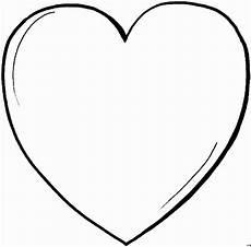 Malvorlagen Herz Einfaches Herz Ausmalbild Malvorlage Gemischt
