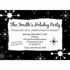 Black And White Christmas Invitations Black And White Party Invitations Free