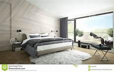 da letto lussuosa da letto moderna lussuosa illustrazione di stock