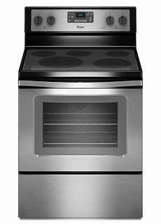 How To Light Electric Stove Whirlpool 30 In 5 3 Cu Ft Electric Range With Self