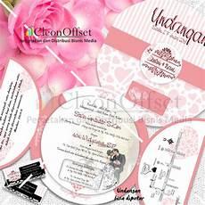 cleon offset cetak undangan pernikahan murah jual