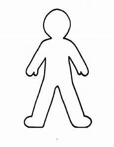 Body Template Outline Counseling Tools The School Counselor Kind