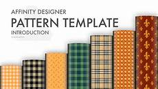 Affinity Designer Repeat Pattern Affinity Designer Pattern Template Introduction Youtube