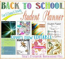 School Planner Cover Ideas Free Back To School Student Planner Free Homeschool Deals