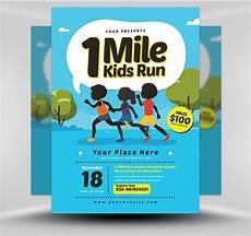 Kids Flyers 1 Mile Kids Run Flyer Template V2 Flyerheroes