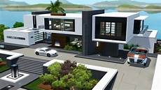 the sims 3 seaside modern house no cc