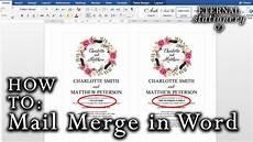 Wedding Invitations Microsoft Word How To Mail Merge Names On Wedding Invitations