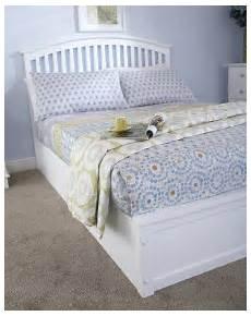madrillo white ottoman storage bed frame