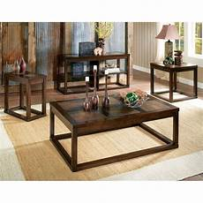 steve silver company alberto sofa table in cherry finish