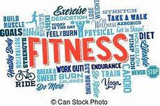 Words Related To Fitness Physical Fitness Illustrations And Clip Art 30 038
