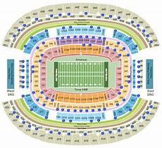 Tamu Football Seating Chart Texas A Amp M Aggies At Amp T Stadium Tickets College Football