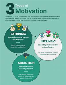 Types Of Motivation In The Workplace Motivation Infographic