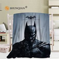 custom batman blanket flannel falafel fabric 56x80inch