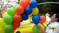 arco de globos arco de globos con tubo de pvc