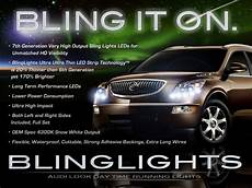 Buick Enclave Daytime Running Lights Buick Enclave Led Drl Head Light Strips Day Time Running