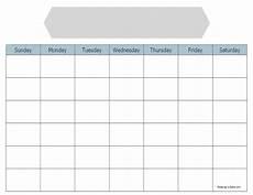 Calendar Blanks Simple Blank Calendar To Print For Free Keeping Life Sane