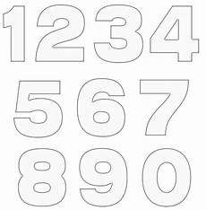 Numbers Design Template Free Numbers Templates