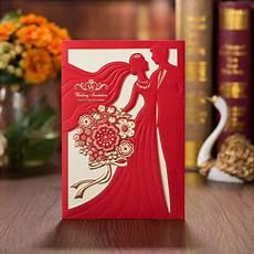 Wedding Invitation Card With Photo New Design Wedding Invitations Cards 2018 Elegant Red