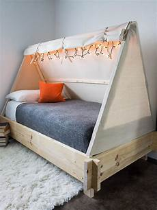 how to build a tent bed hgtv