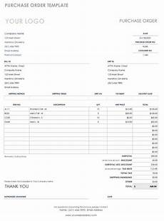 Sample Copy Of Purchase Order Free Purchase Order Templates Smartsheet