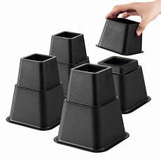 buy bed risers adjustable heavy duty 8 set 3 or 5