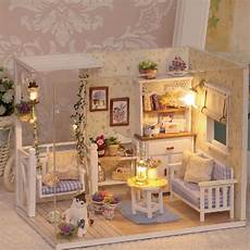 Design A Dolls House Doll House Furniture Diy Miniature Dust Cover 3d Wooden