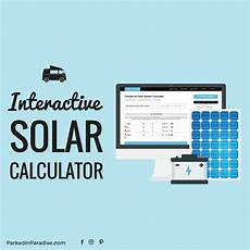 Rv Battery Size Chart Solar Panel Calculator And Diy Wiring Diagrams For Rv And