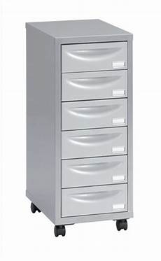 mobile multi drawer storage cabinet steel 6 drawers