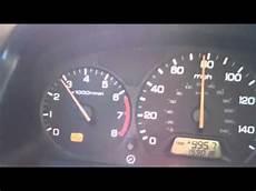 Honda Odyssey Engine Light 99 Honda Accord Check Engine Light On Trip P1259 Youtube